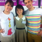 Day 2: Colourful and cute tees for the hosts!