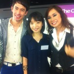 Day 1: Photo with the 2 hosts