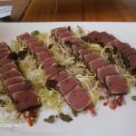 Seared Tuna on Mango Salsa