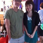 Photo with the director before leaving~