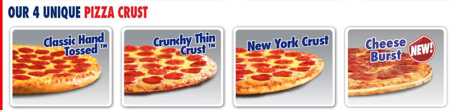 domino s pizza has 3 unique pizza crust and the staff has ...