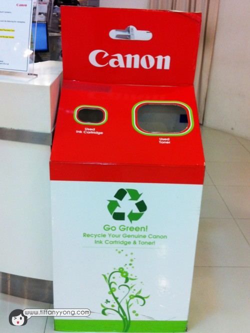 Ink Cartridge Recycle Bin
