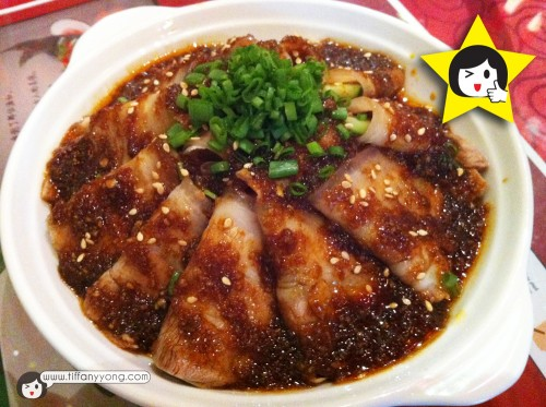 蒜泥白肉 $8.80Thin Pork Slices in Sichuan Garlic Sauce
