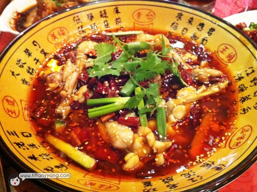 馋嘴牛蛙 $26Numb and spicy Bullfrog