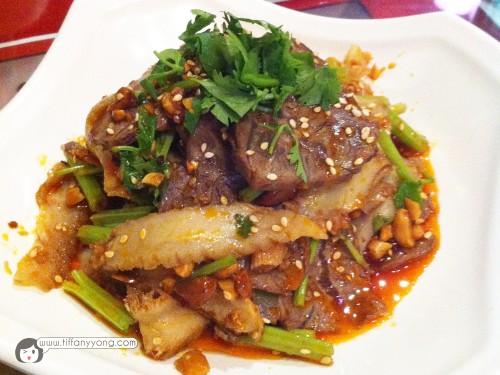 姜葱牛肉 $18 Pan Fried Beef Slice Hong Kong Style