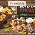 Morganfield's Time to Get Sticky February Promotion
