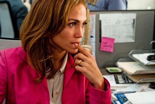 Jennifer Lopez- a 'desperate' property sales agent