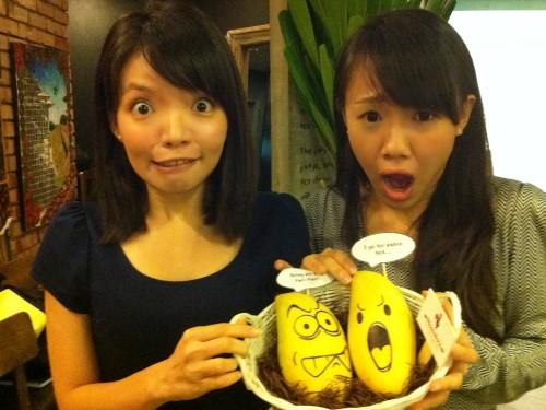 Do we look like the mangoes?