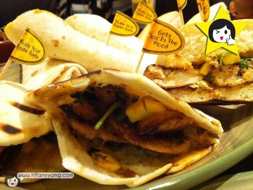NEW Angry Mango Burger, Pita, Wrap!