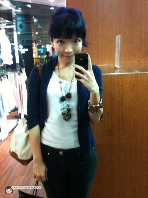 OOTD Tiffany Yong