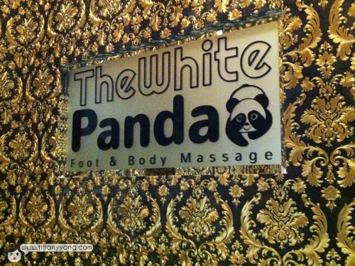 white panda massage