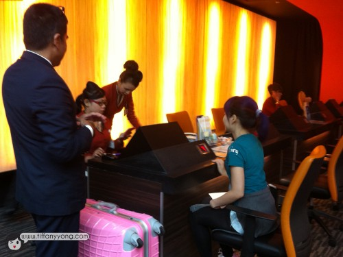 changi airport premier check in