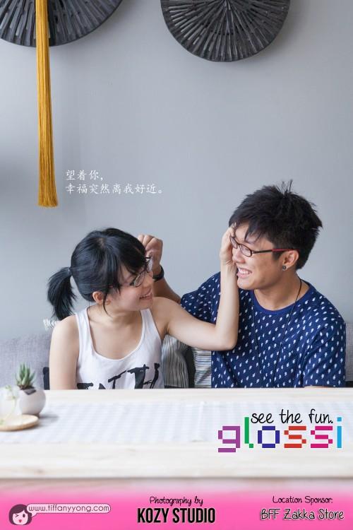 Couple Glossi Eyewear
