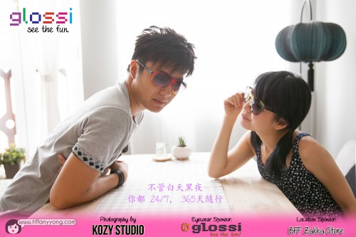 Couple Glossi Eyewear