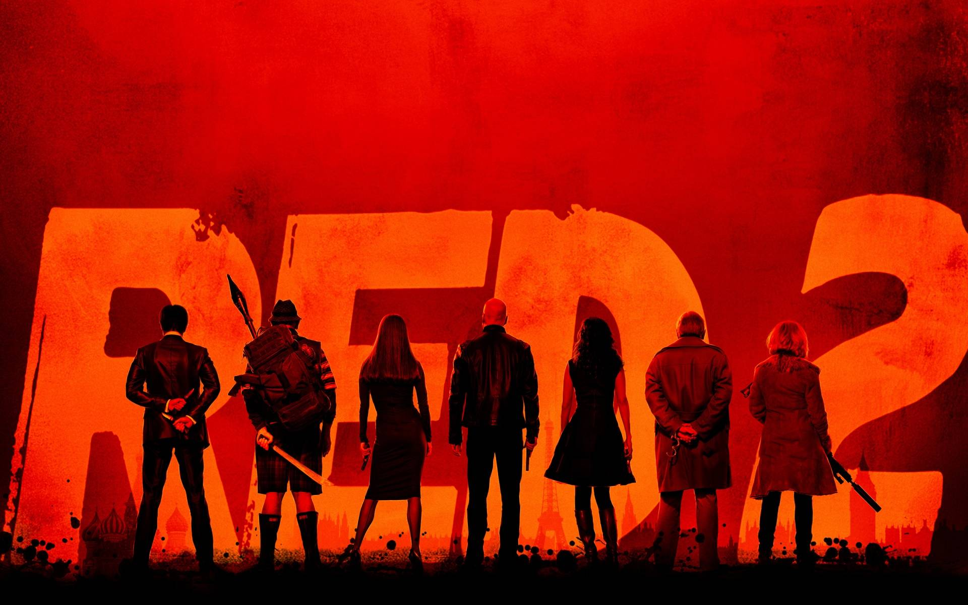 Red 2 Movie Poster Red 2 (2013) Movie Rev...