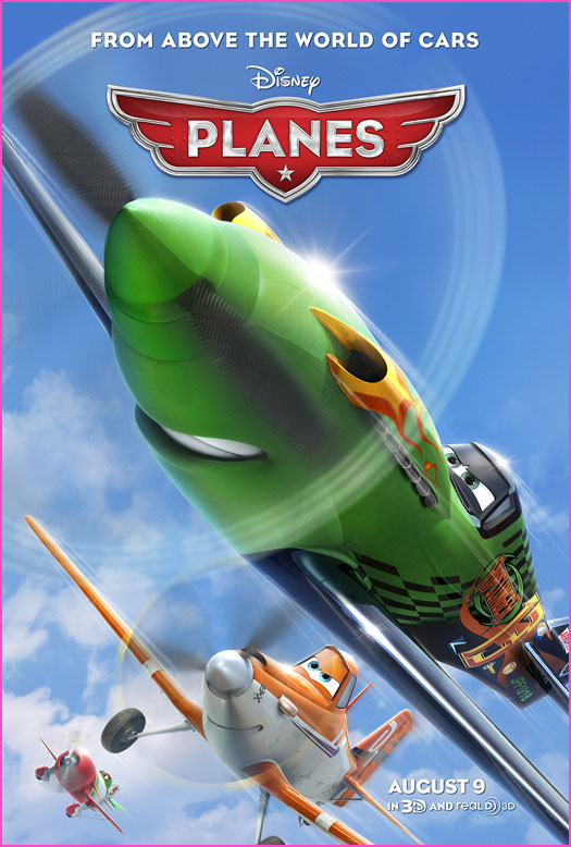 Disney's Planes Movie Review   by tiffanyyong.com Planes Movie Poster