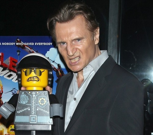 liam neeson lego movie