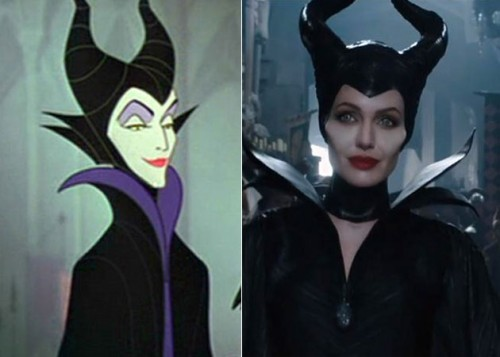 maleficent angelina makeup