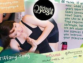 tirisula yoga Website header