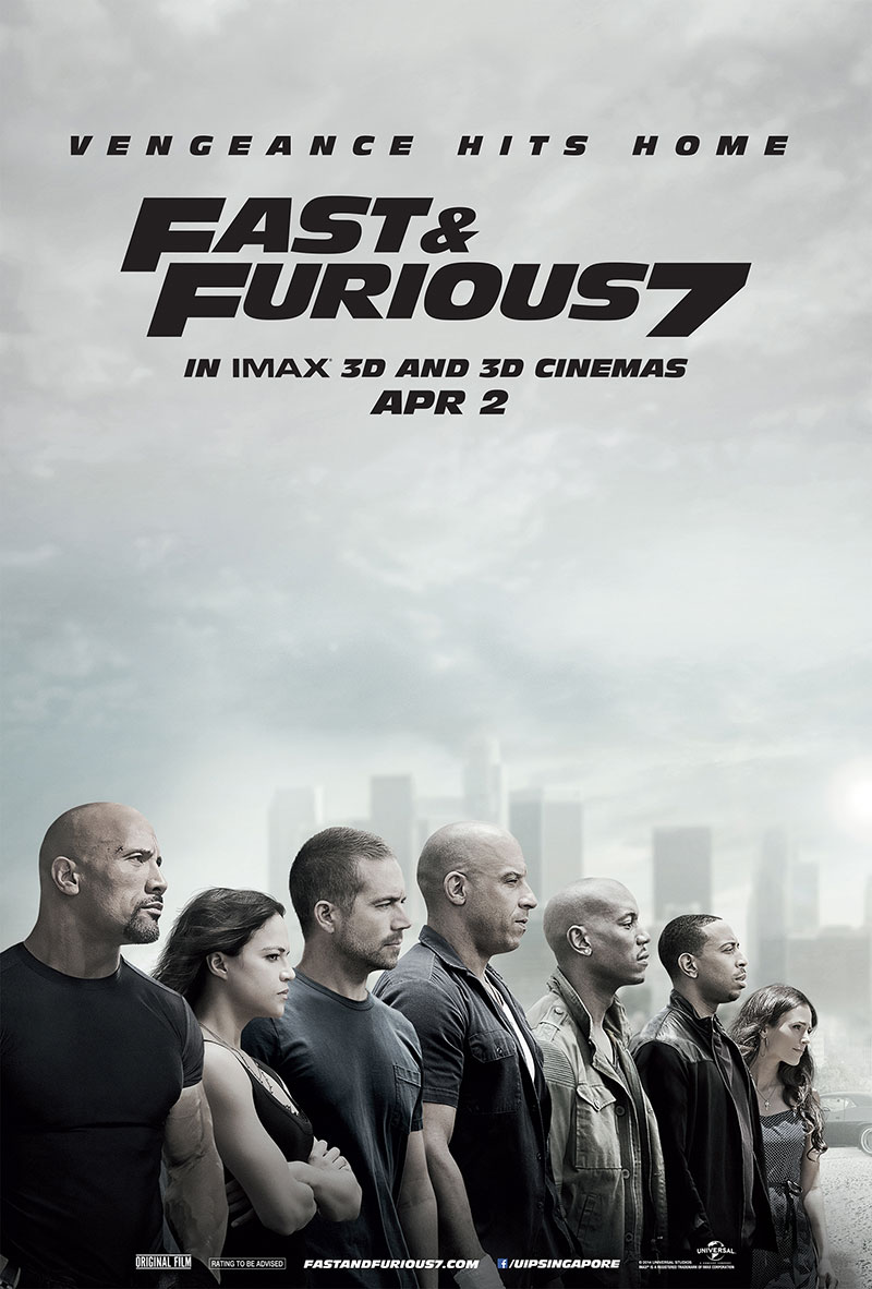 Fast and Furious 7 Movie Review : by tiffanyyong.com