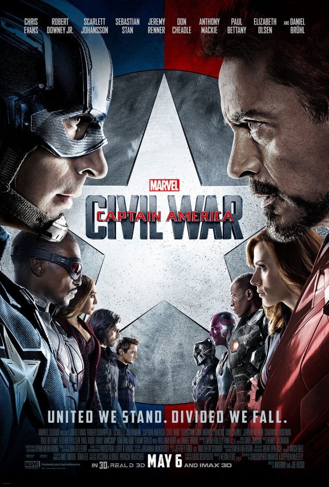 Civil War Movie Poster