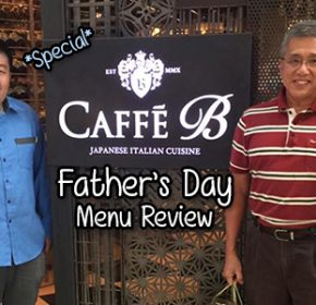Caffe B Fathers Day Website header