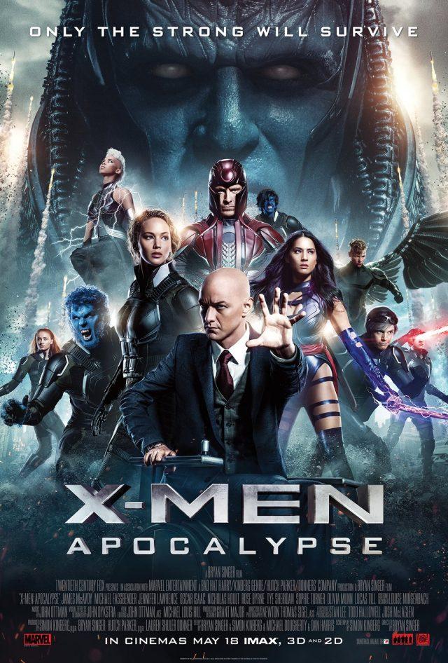 X-Men Apocalypse Movie Poster