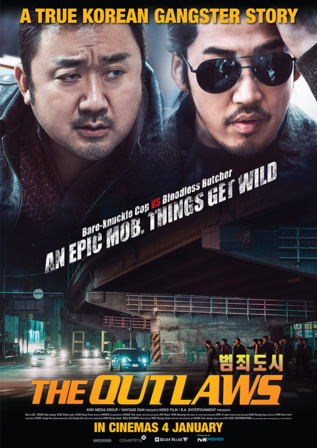 The Outlaws Korean Movie Poster